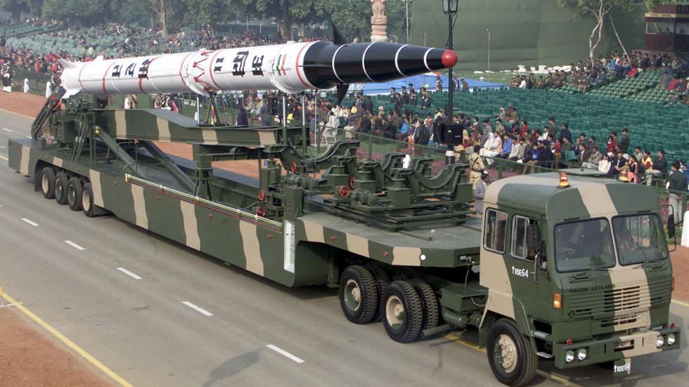 РТ: Индија тестирала  балистичку ракету средњег домета са могућношћу ношења нуклеарних глава