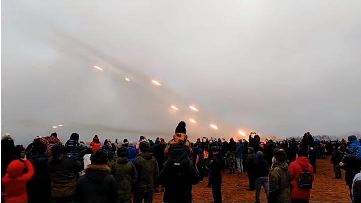 Руска војска приредила спектакл за посетиоце поводом Дана ракетне војске и артиљерије