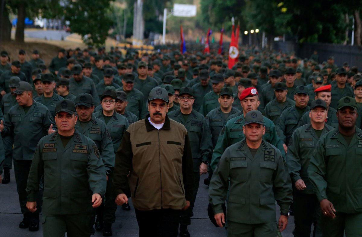 Мадуро наредио мобилизацију