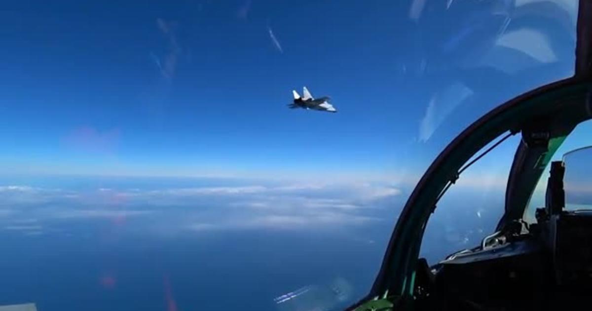 Вежба ваздушног дуела авиона МиГ-31БМ