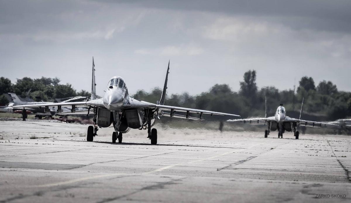 Налети авиона Војске Србије