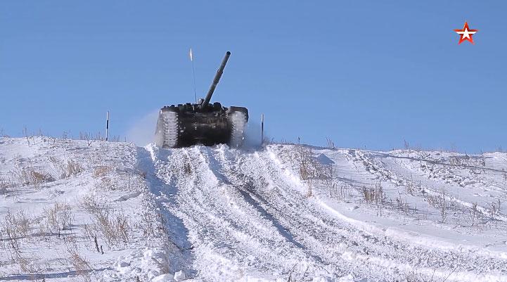 Припрема руских тенкиста за Међународне војне игре