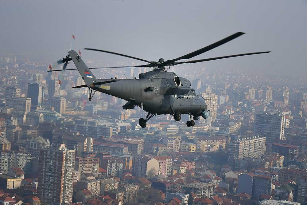 Obuka na borbenim helikopterima Mi-35