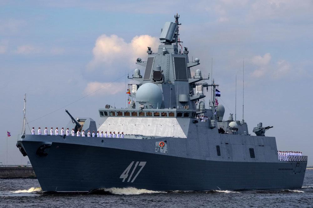 """Тестирана нова фрегата """"Адмирал Касатонов"""""""