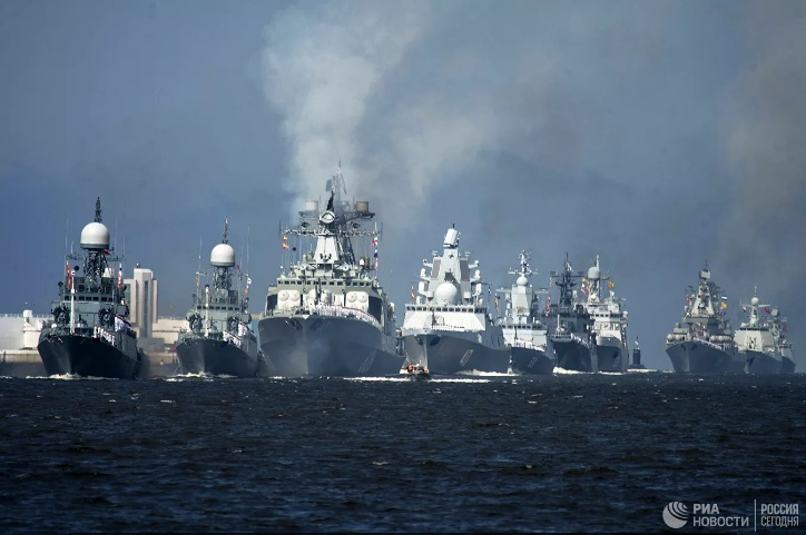Пентагон објавио мапу активности руске морнарице