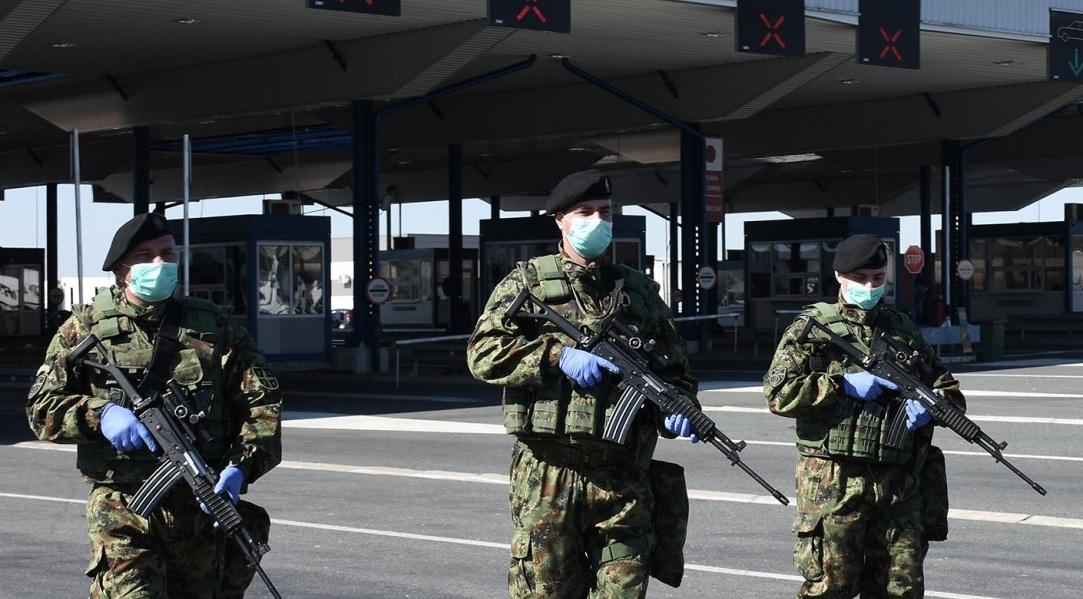 Angažovanje Vojske Srbije u vanrednom stanju