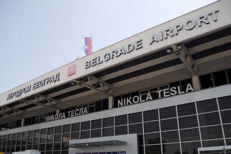Обустава свих комерцијалних међународних летова са и ка београдском аеродрому
