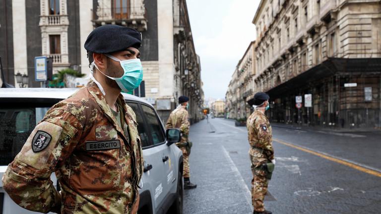РТ: У Италији 793 смртнa случајa у једном дану