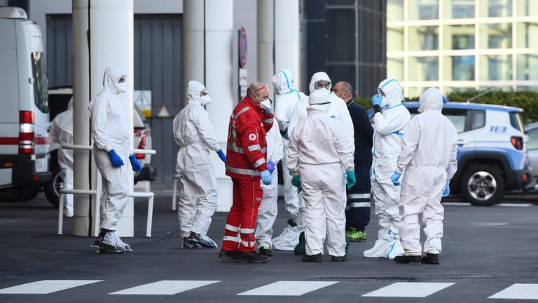 """РТ: """"Најгора криза од Другог светског рата"""": Италија обуставља рад свих невиталних предузећа у покушају да обузда ширење вируса"""