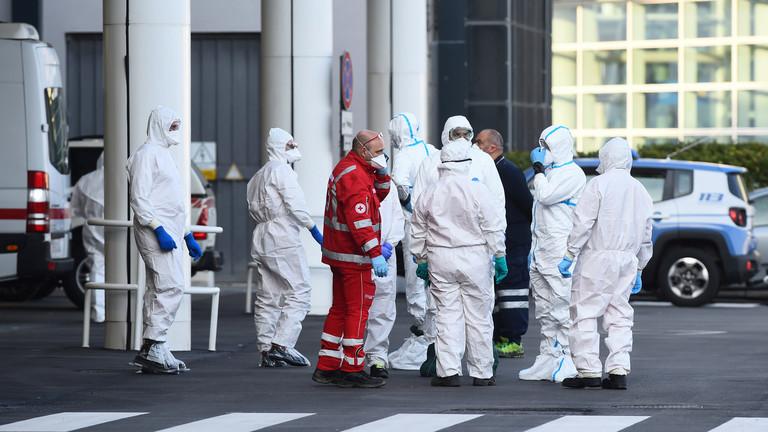 РТ: За дан у Италији 651 смртни случај, број заражених се ближи 60.000