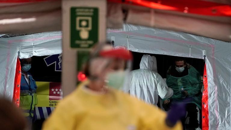 РТ: У Шпанији за дан 462 смртна случаја са преко 4.500 новозаражених