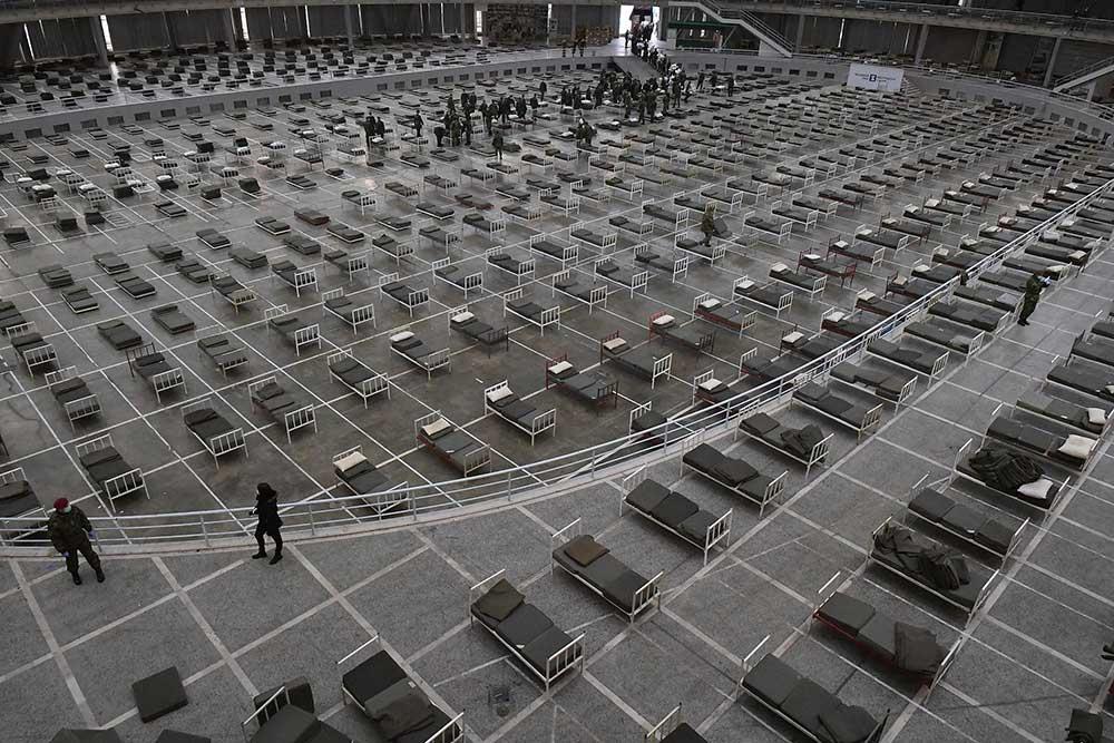 Војска поставља 3.000 кревета на Београдском сајму