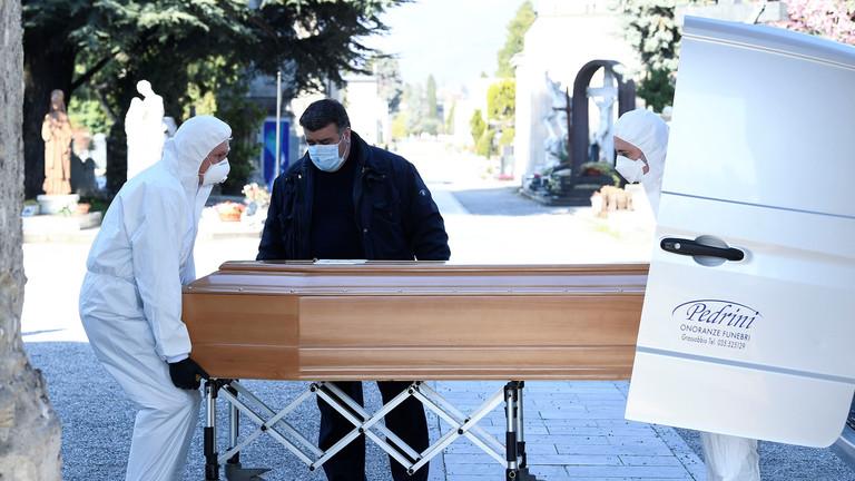 РТ: У болницама нема места, многи умиру код куће - градоначелник Бергама