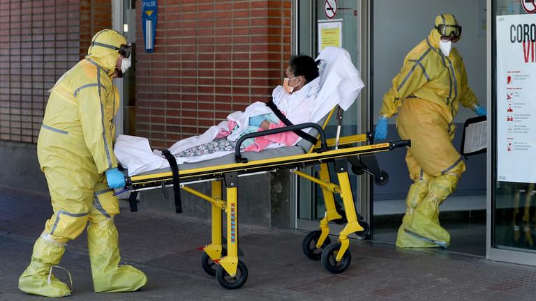 RT: U Španiji registrovano 655 smrtnih slučajeva za poslednja 24 časa