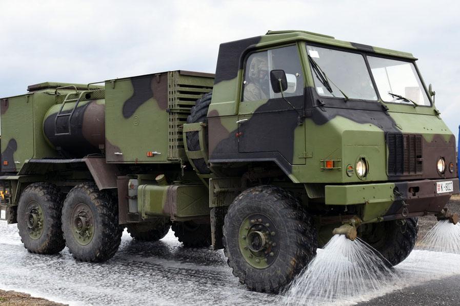 Појачане мере Војске Србије на сузбијању Covid-19 у Ваљеву