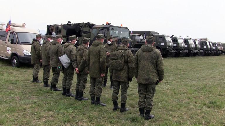 """РТ: Руска војна подршка """"преко потребна"""" у борби Италије бори против коронавируса, а ситуација је """"критична"""""""