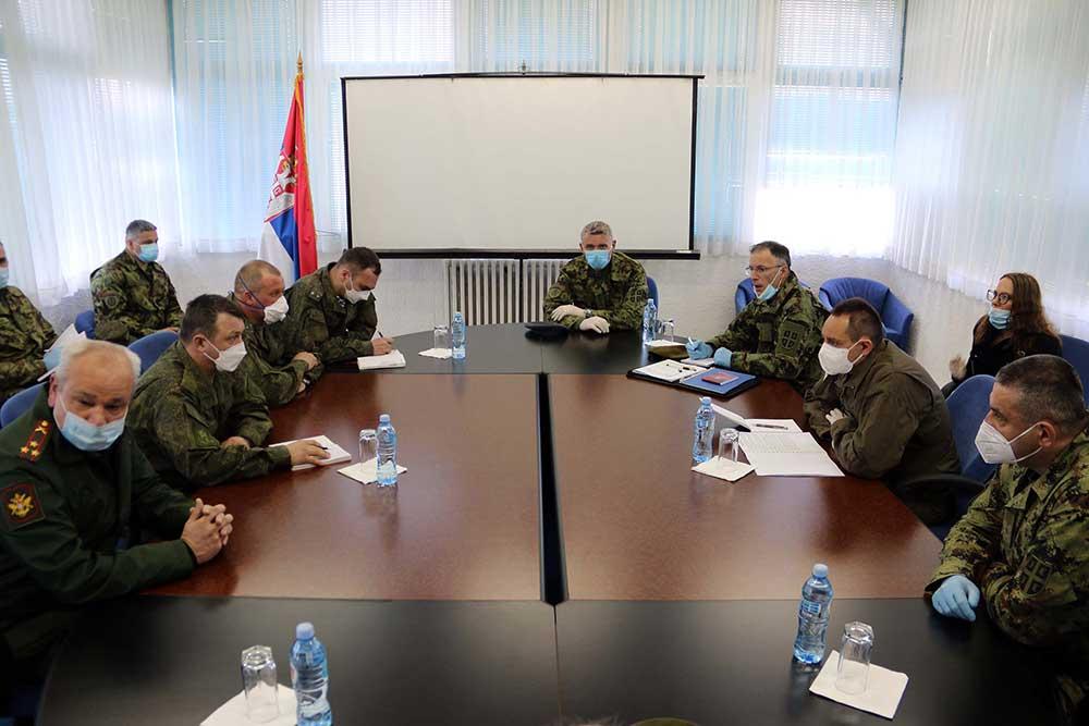 Усаглашени планови ангажовања војних тимова Руске Федерације у Србији