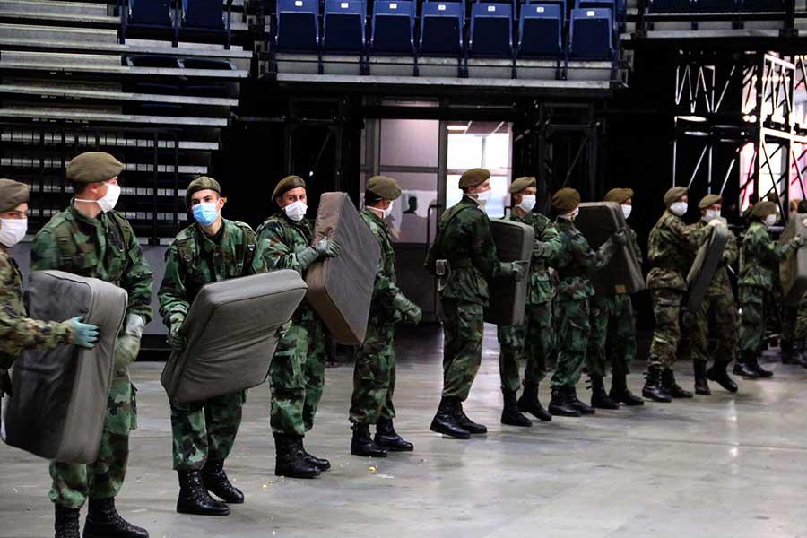 Oko 60 pripadnika Prve brigade Vojske Srbije zaraženo koronavirusom