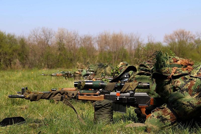 Snajperska obuka pripadnika Vojske Srbije