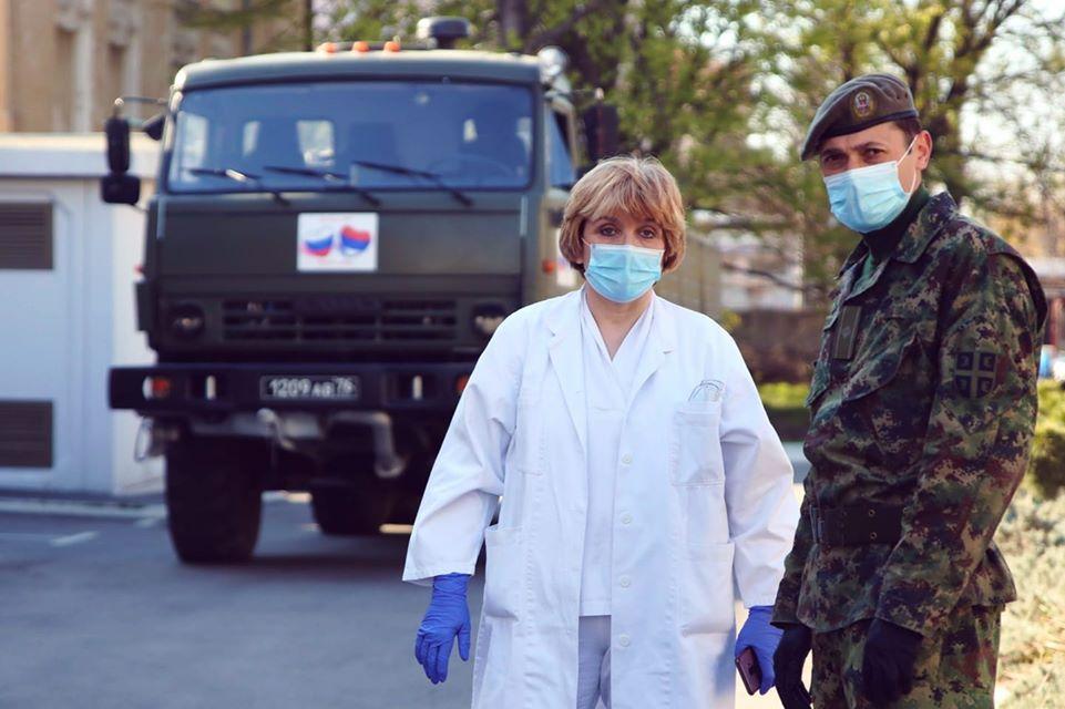 Др Даница Грујичић: Руски специјалци уз нашу војску успешно дезинфиковали Инситут за онкологију и раидологију