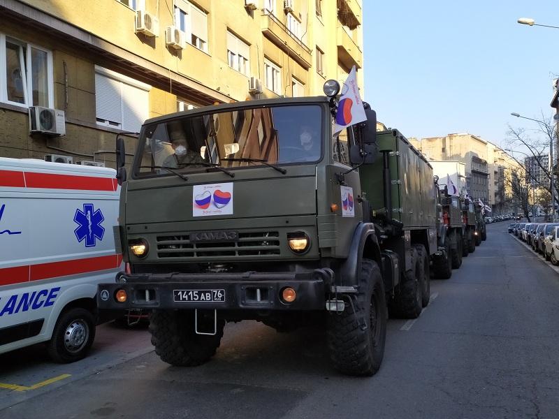 Руски стручњаци зa недељу дана дезинфековали 25 медицинских установа у Србији