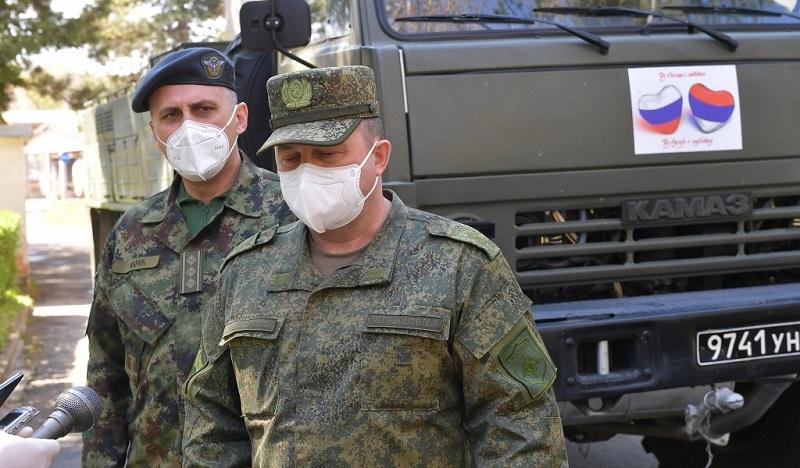 Генерал Чернишов: Добро се разумемо са србским пријатељима