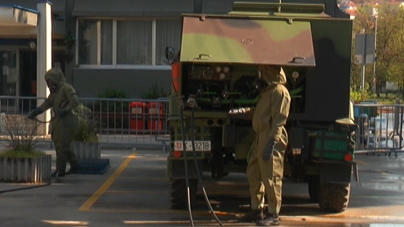 Јединице АБХО српске и руске војске настављају ангажовање у борби против коронавируса