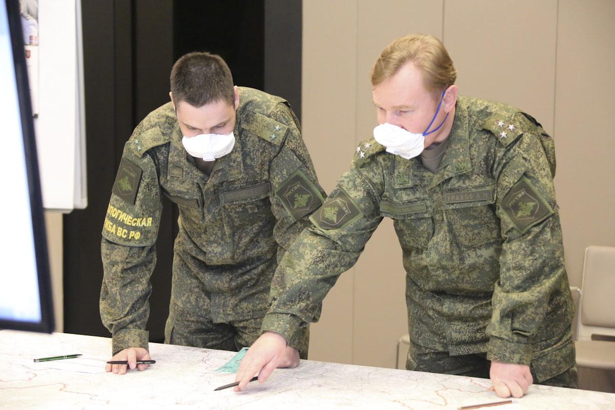 Руски војни стручњаци у Србији дезинфиковали више од 1,1 милион квадратних метара објеката