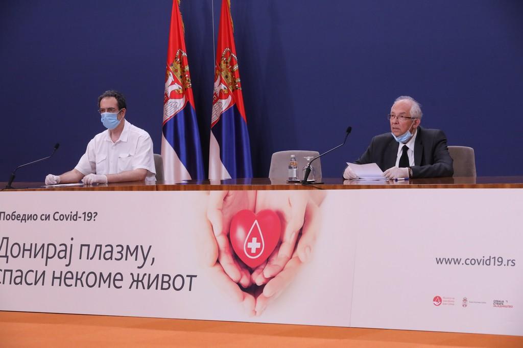 Укупан број заражених у Србији 9.205, док је преминулих 185