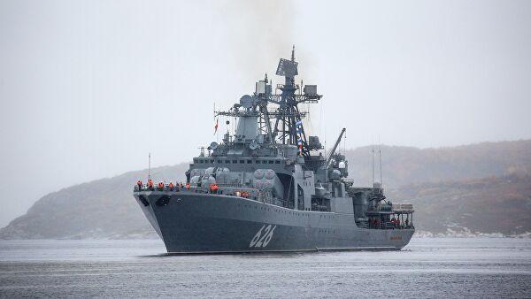 Северна флота прати дејства групе НАТО бродова у Баренцовом мору
