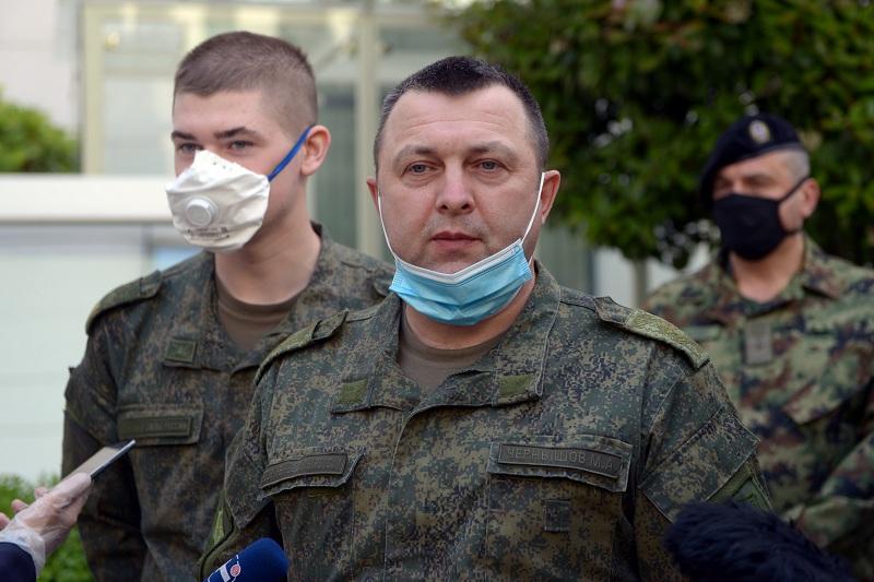 Генерал Чернишов: Ова помоћ је помоћ правог пријатеља, који не гледа на то ко има већи проблем
