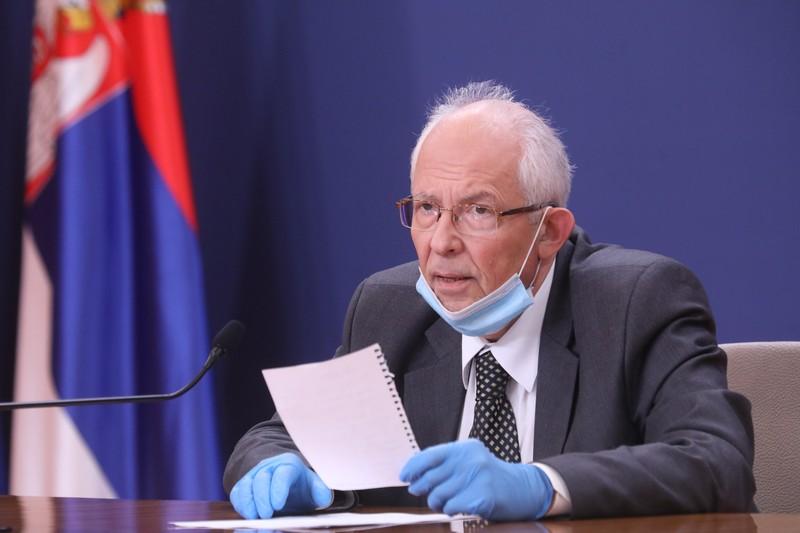 Број заражених од коронавируса у Србији и даље у паду