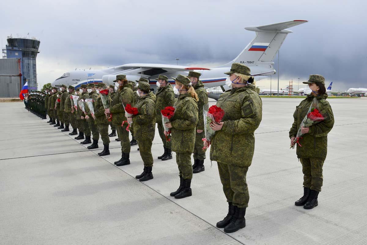 Руски војни одред који је деловао у Србији стигао у Русију