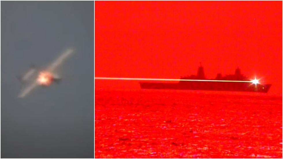 РТ: Америчка морнарица представила ласер демонстрацијом обарања дрона на мору