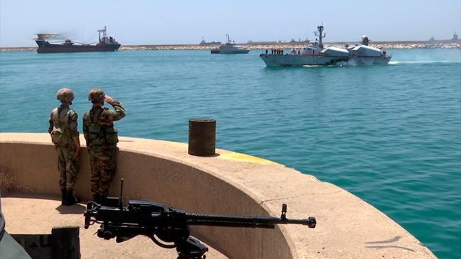 Руско-сиријска поморска вежба у бази Тартус