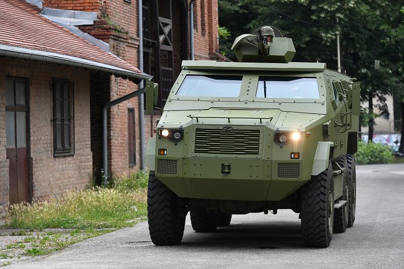 Predstavljeno novo oklopno borbeno vozilo M-20 MRAP 6x6