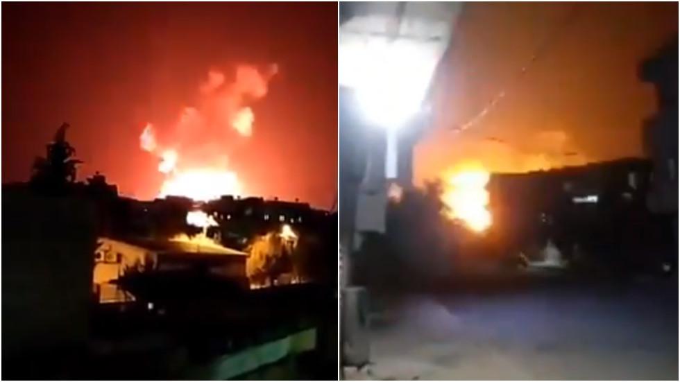 РТ: Жестоке експлозије након удара на сиријске војне базе