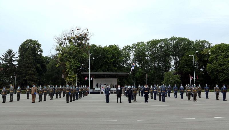 Свечаност поводом завршетка Командно-штабног усавршавања официра 66. класе