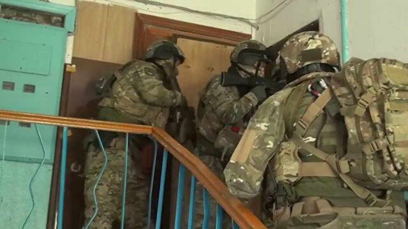 ФСБ објавио снимак специјалне операције у Кабардино-Балкарији