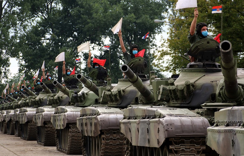 Артиљеријско-ракетне јединице један од најснажнијих делова Војске Србије