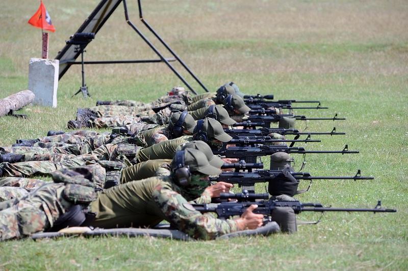 Обилазак снајперске екипе Војске Србије на припремама за Међународне војне игре