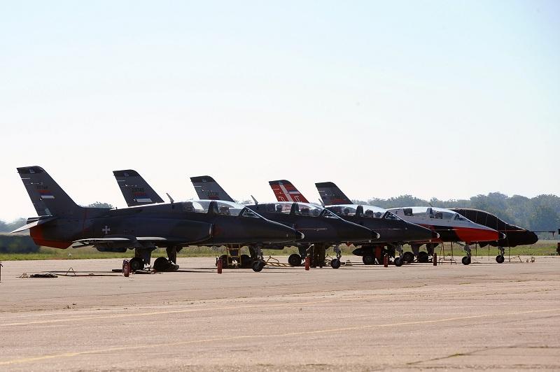 Letačka obuka kadeta Vojne akademije i kandidata za Vojnu akademiju