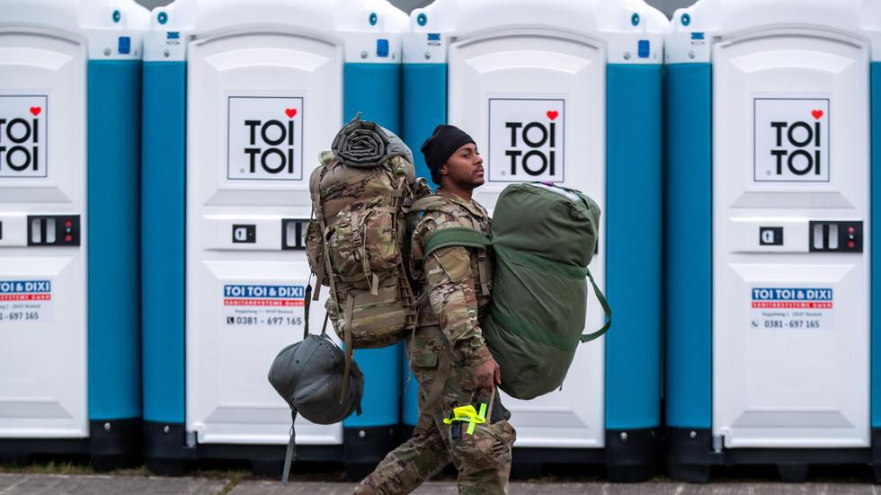 РТ: Хиљаде америчких војника ће бити измештено из Немачке за неколико недеља - шеф Пентагона