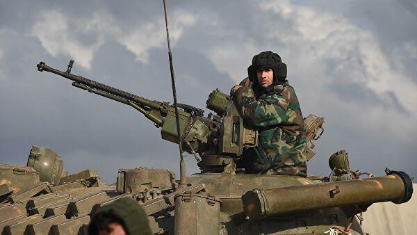 """""""Главни фактор нестабилности у области око Еуфрата је незаконито присуство америчке војске"""""""