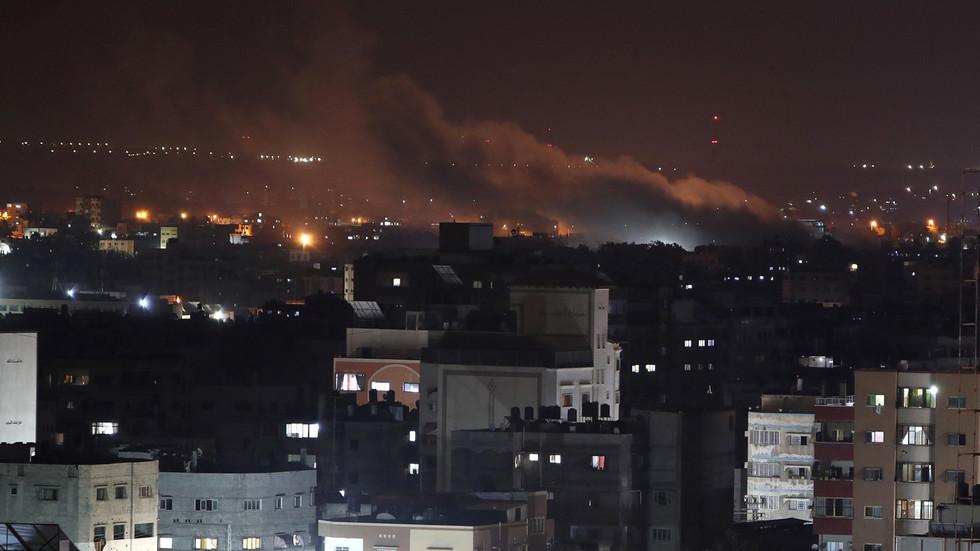РТ: Израел је напао Хамасову јединицу специјалних снага у Гази након ракетних напада