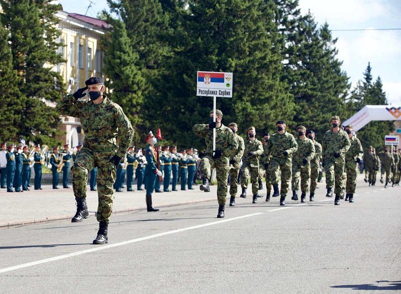 Припадници Војске Србије на Међународним војним играма учествују у три дисциплине