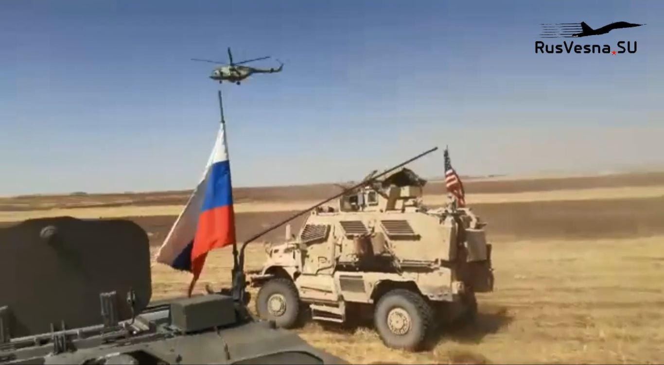 Инцидент између руских и америчких снага у Сирији