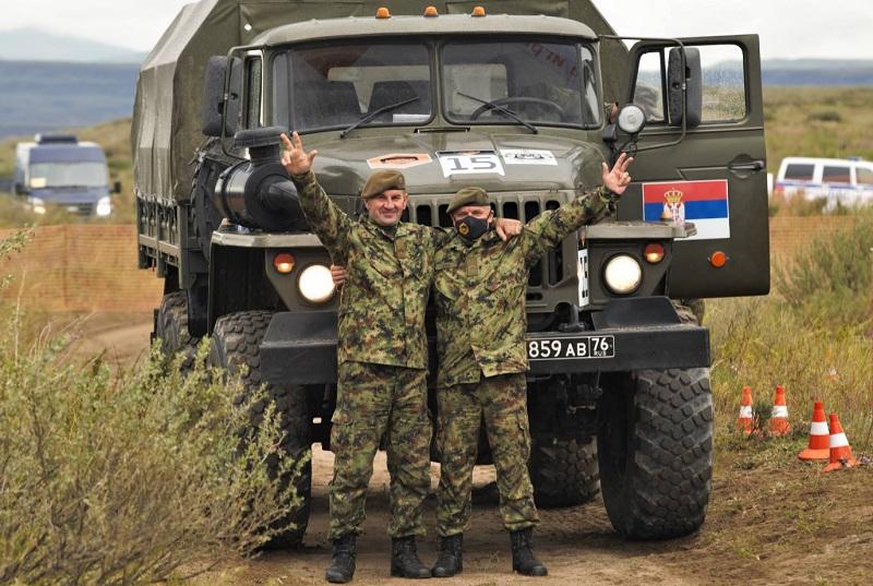 Posada Vojske Srbije osvojila prvo mesto ne reliju Međunarodnih vojnih igara u Rusiji