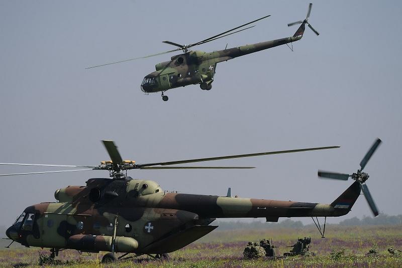 Хеликоптери Ми-17В5 ојачали Ратно ваздухопловство