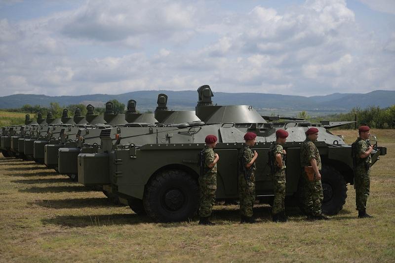 Возила БРДМ-2МС значајно појачање извиђачким јединицама Војске Србије